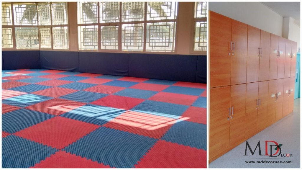 School interior design company in sharjah