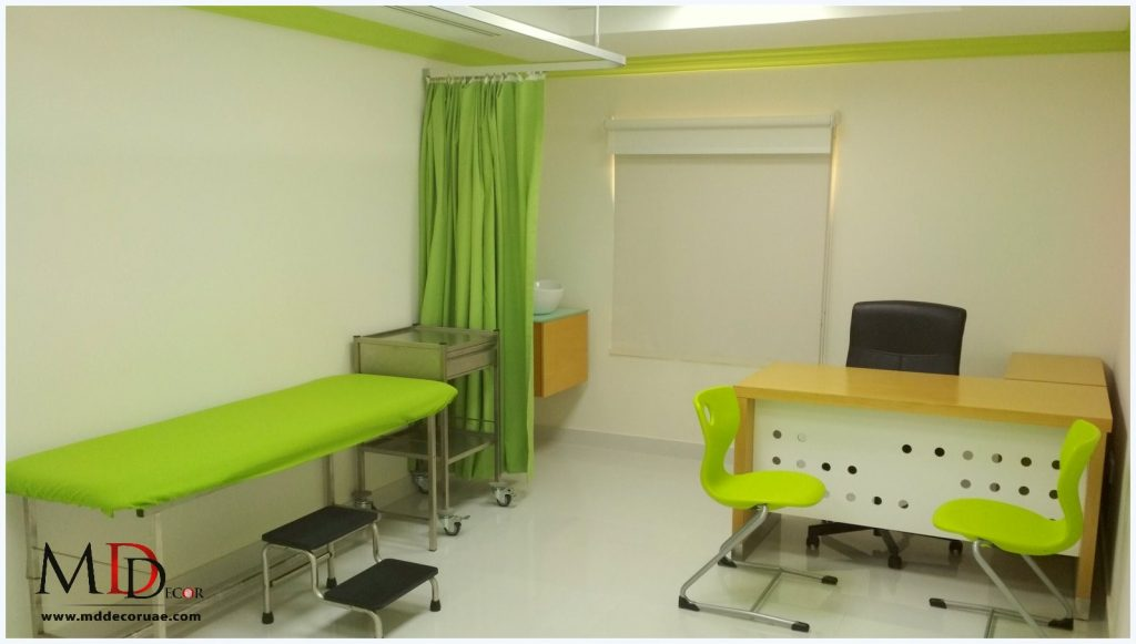 Clinic interior company in sharjah