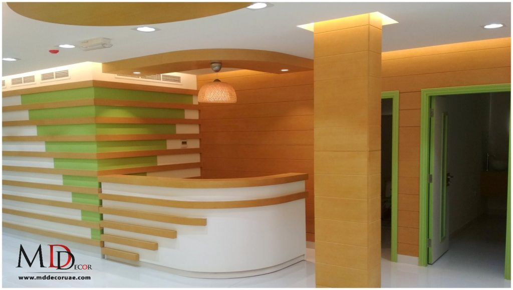 Clinic fitout in sharjah