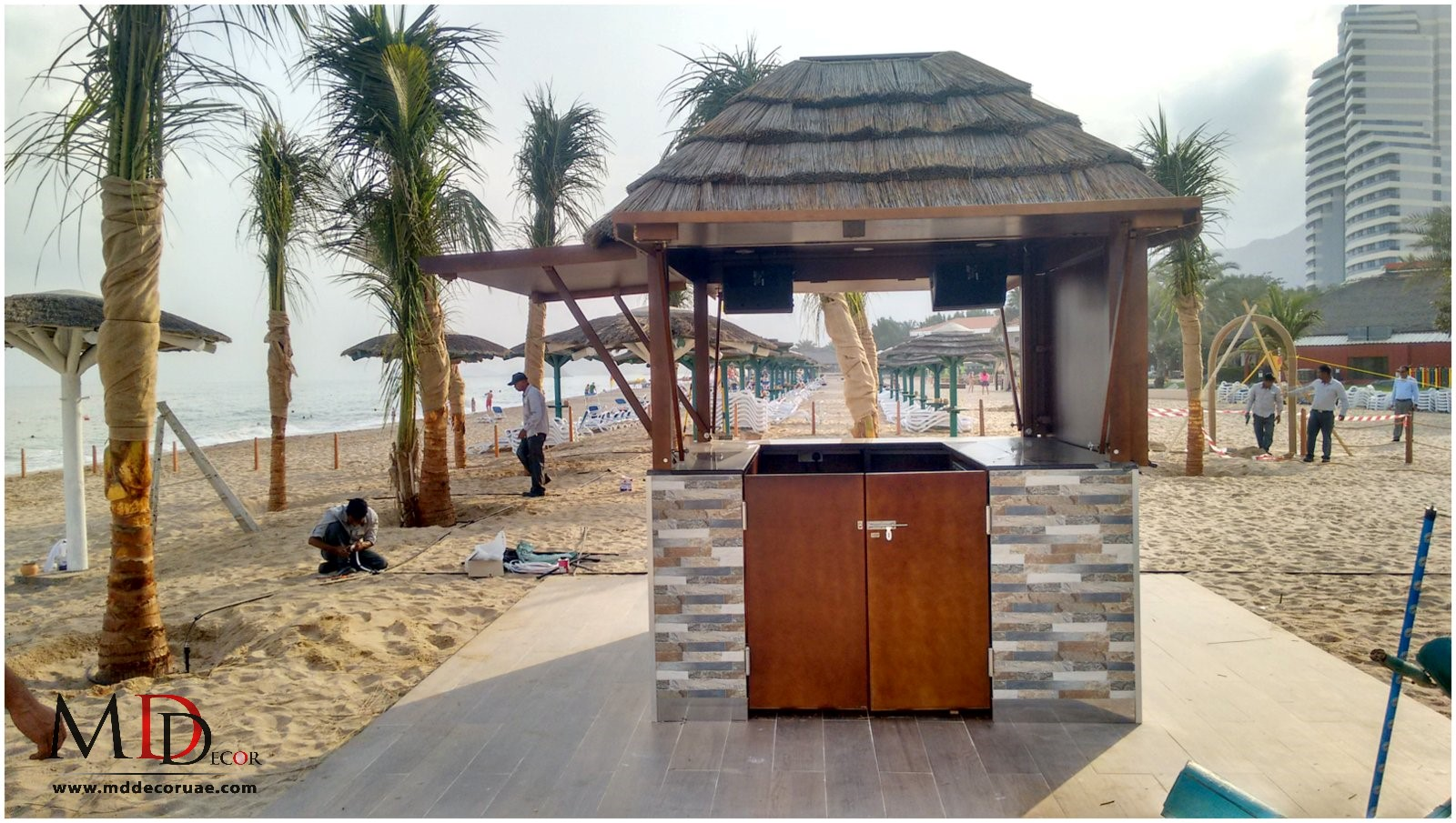 Sea side Bar hut in uae