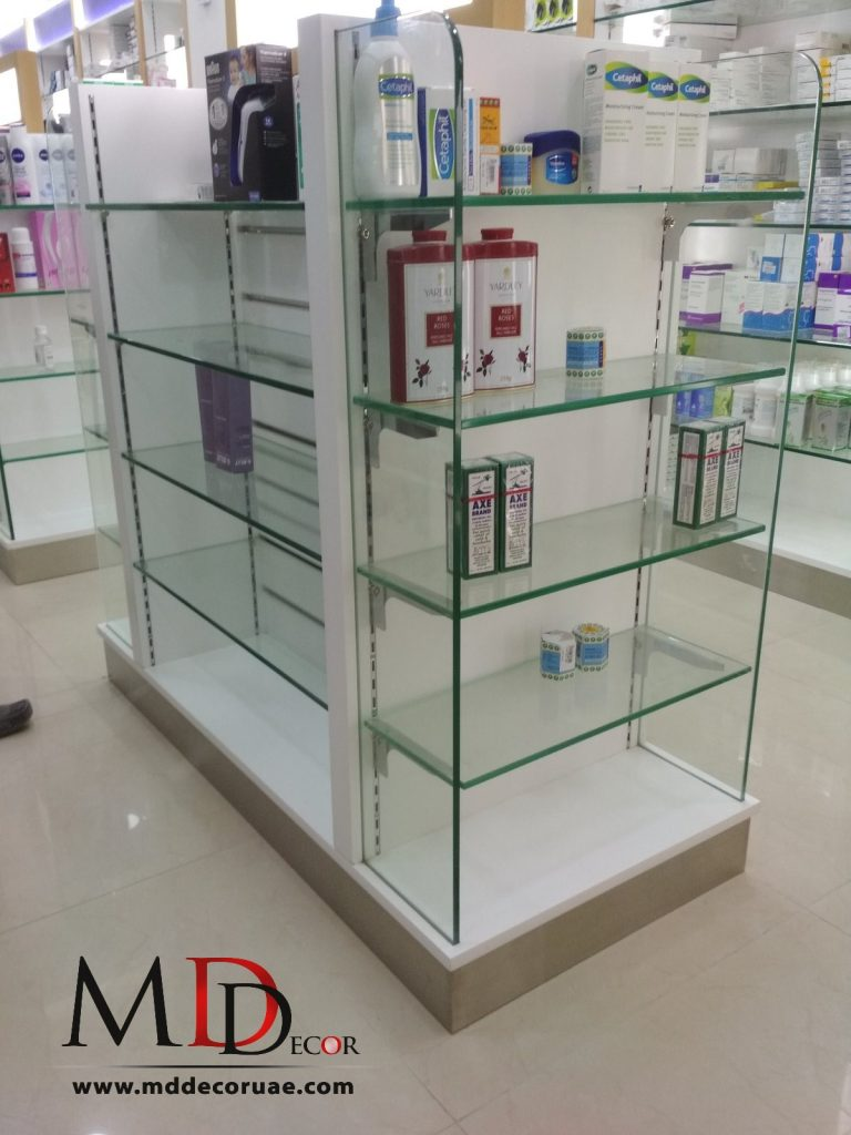 Pharmacy Display Stand in Uae