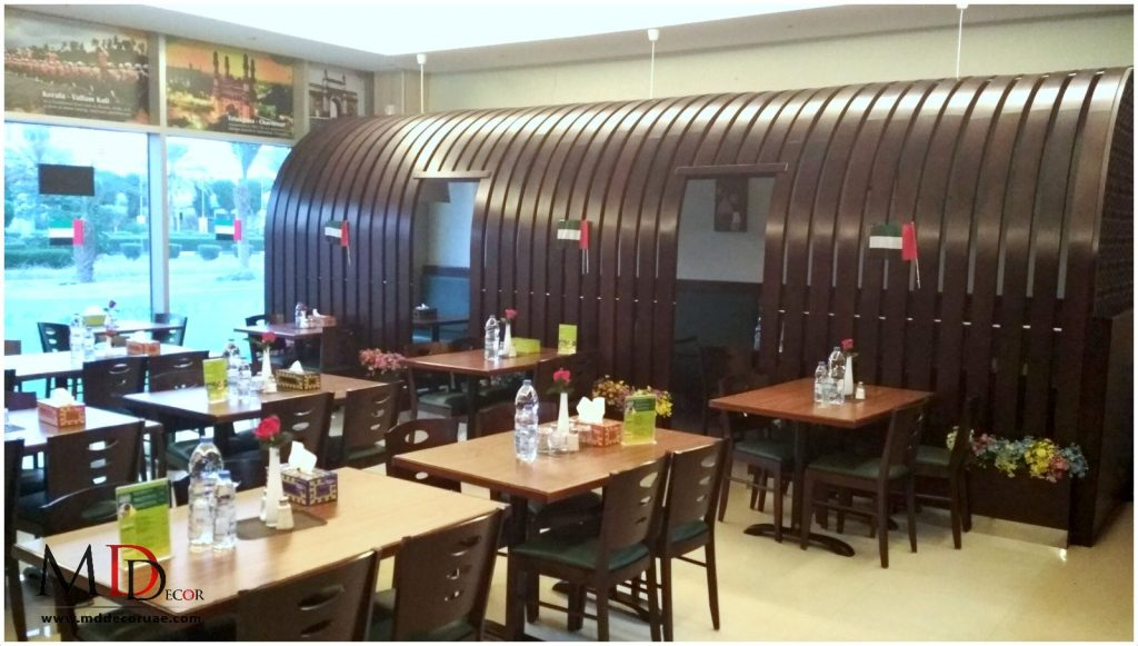 Restaurant Fitout company in sharjah